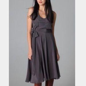 Marc Jacobs dark gray Silk Dress